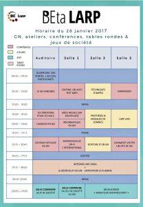 Planning BEta Larp1